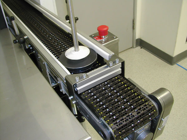 CDs and DVDs on 3200 and MPB Series conveyors