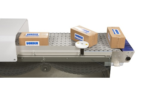 ARB technology on conveyor with boxes at a bump turn
