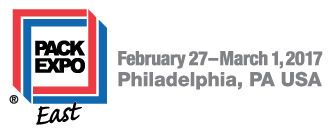 Pack Expo East banner February 27 to march 1 2017 Philadelphia