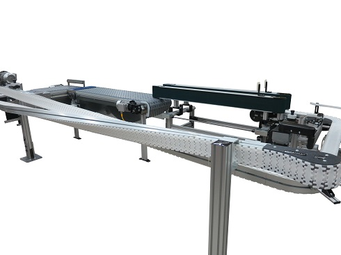SmartFlex Twist on SmartFlex conveyor