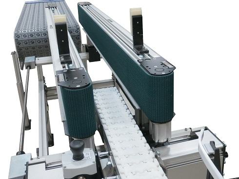 3200 Series bottomless squeezing conveyor with bottomless design